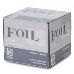 Extra wide 500 m hair foil procare