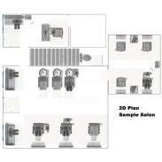 2D Floor Plan Design for KAZEM