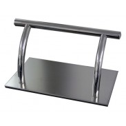 salon steel footrest