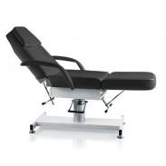 beauty bed and massage couch in black for beauty or tattoo