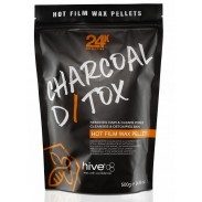 hive charcoal detox wax for barbers kazem