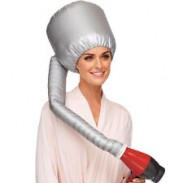 Portable Dryer Hood Silver