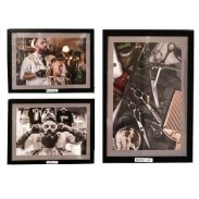 set of 5 barber shop photos and frame by kazem